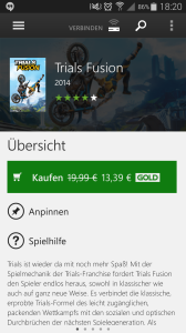 Trials Fusion SmartGlass