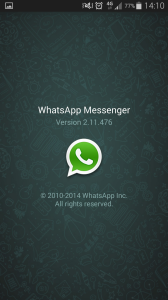 Whatsapp aktuelle Version