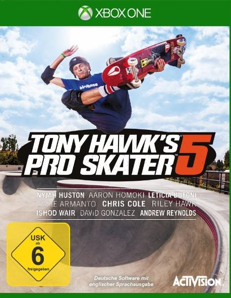 Xbox One Game: Tony Hawk's Pro Skater 5 – kein Split-Screen!