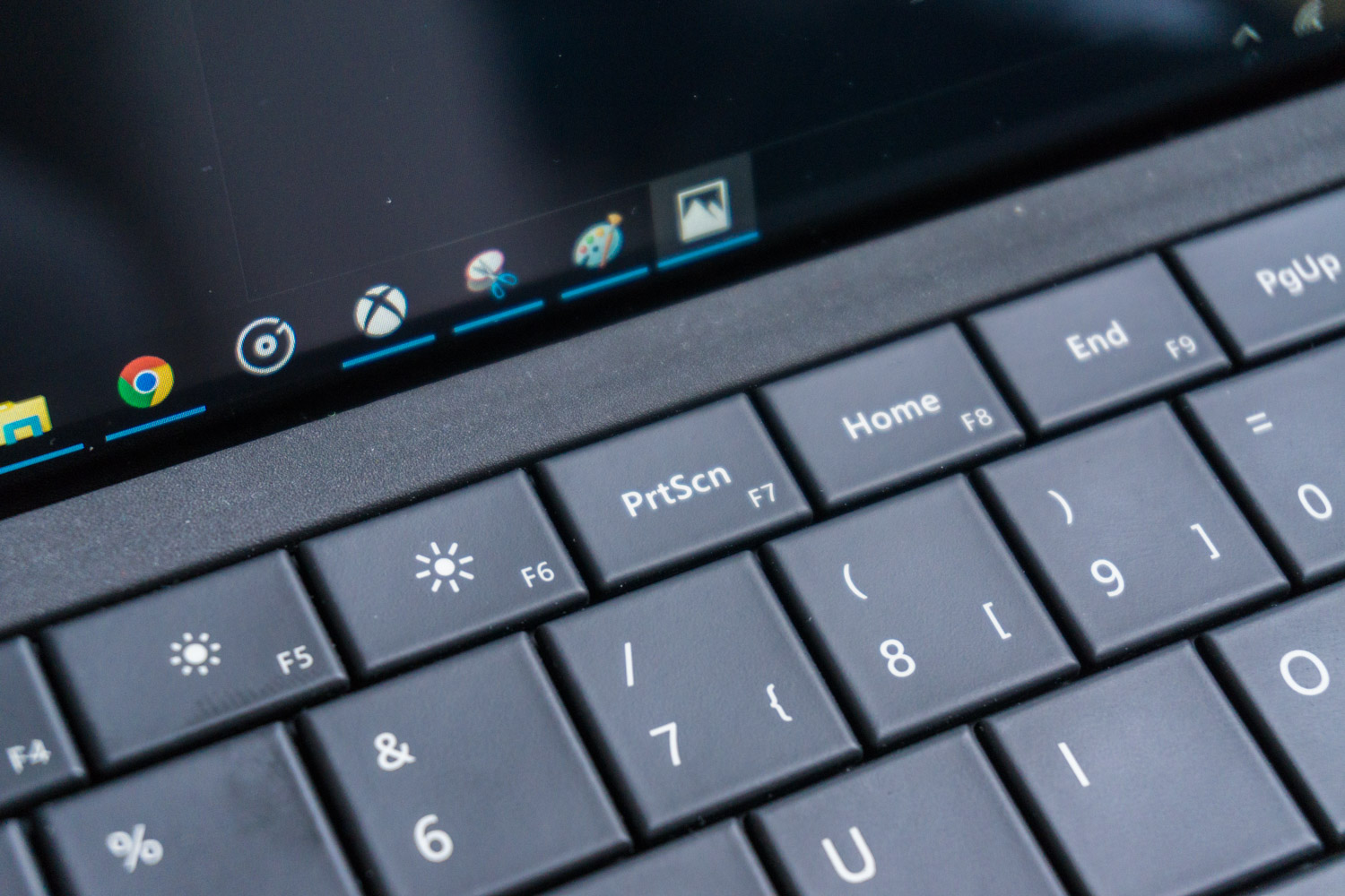 Surface 3: Screenshot erstellen